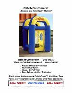 Inflatable CatchCash™ Machine